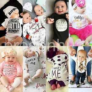 Newborn-Kids-Baby-Boys-Girls-Infant-Rompers-Jumpsuit-Bodysuit-Clothes-Outfit-Set