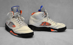 916a37e1e36b08 B0 NIKE AIR JORDAN 5 V International Flight Sail Blue Shoes 136027 ...