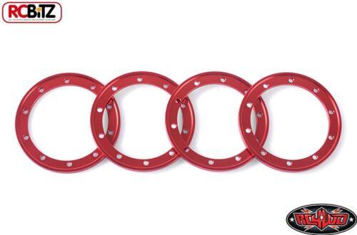 "Rosso 1.9/"" Universale Interno Anelli 4 D1 D2 Sistema Ruota RC4WD Z-S1249 rcbitz"