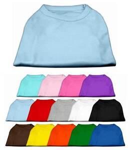 Blank Dog Shirts Xs 6xl Plain Puppy Pet Cat Tee T Shirt Tank