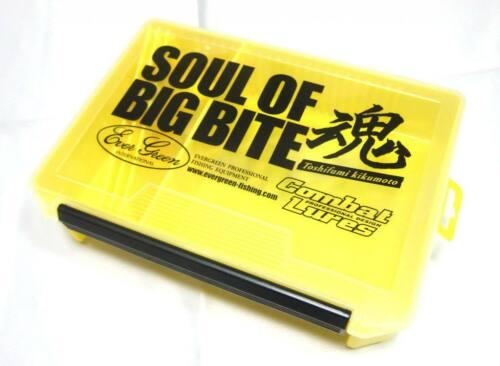 Evergreen Tackle Box Large Yellow Soul of Big Bite 255 x 190 x 60 mm 2550