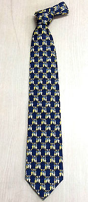 Korea Silk Tie duck brothers picture High quality