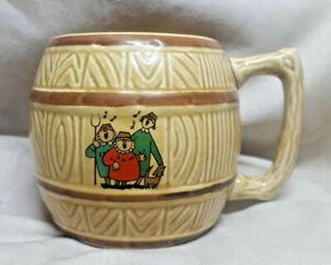 R N COATE & CO LTD PETER NISBET Somerset Singing Cider Farmers -Barrel Cup/Mug