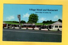 London,KY Kentucky Village Motel and Restaurant, Owned by Mr. & Mrs. F.M.Smith