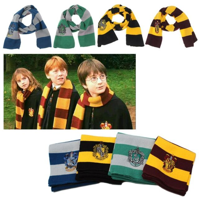 Harry Potter Echarpe Gryffindor Tricot Châle Laine Magique Costume Scarf Shawl
