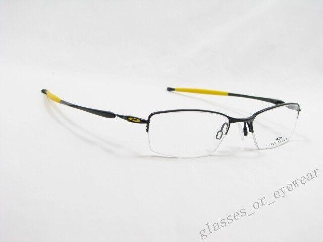 77f79d1d5ff Oakley Livestrong Transistor Eyeglasses Frame - Polished Black 22-235 for  sale online