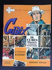 RARE Album jeu à monter Cubix Blueberry Dargaud 1971 TBE