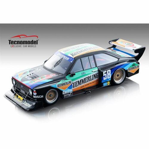 Tecno 1:18 TM18172C 1980 DRM Ford Escort II RS Turbo Team Kümmerling Boller