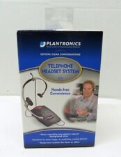 New Open Box Plantronics S11 Office Business Telephone Headset System