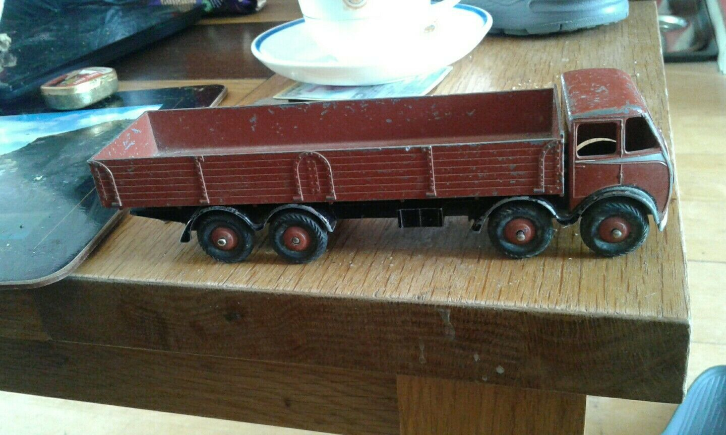 Dinky 1st type foden Brown