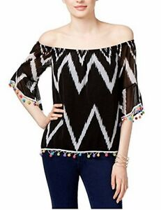 98b9bcd4020a5 INC International Concepts Popsicle® Women s Off-The-Shoulder Top ...