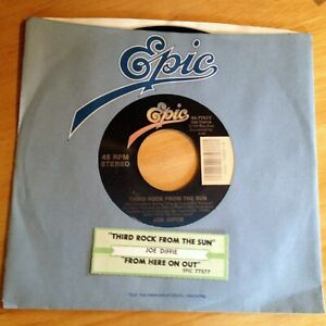 Joe Diffie 45 Third Rock From The Sun / From Here On Out ...