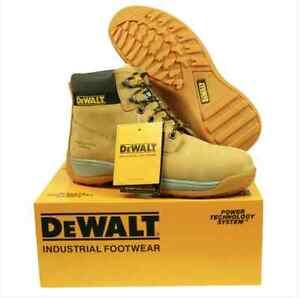 Men S Safety Work Boots Dewalt Steel Toe Apprentice Ebay