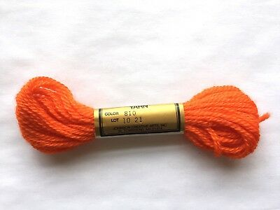 Needlepoint Yarn Paterna Paternayan Persian Wool #810 Lot 1021 7.4 M 8 Yards