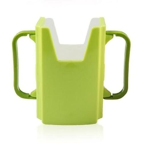 Baby Toddler Child Self-Helper Milk Juice Water Drinking Container Cup Holder IT