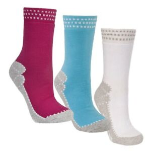 Trespass-Olivetti-Womens-Hiking-Socks-Cotton-Outdoor-Sports-Ladies-Socks