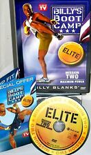 Billy Blanks Bootcamp Elite - Mission 2: Maximum Power (DVD, 2006)