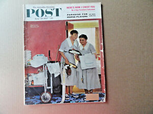 Saturday-Evening-Post-Magazine-June-29-1957-Complete-Norman-Rockwell-Cover