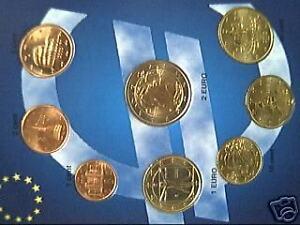 ITALIE-2006-8-pieces-EURO-ITALIA-ITALY-ITALIEN-unc-fdc
