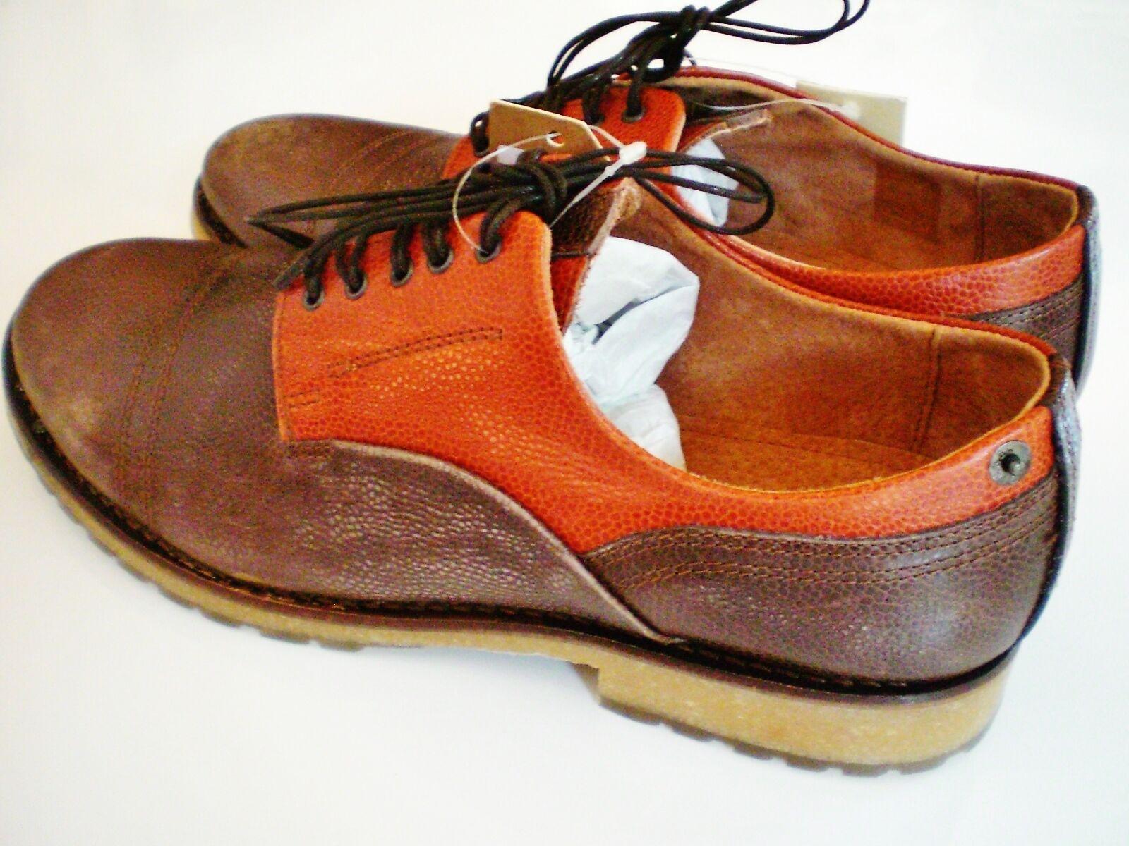 Original DIESEL Schuhe THE PURE SPLIT G01020 Boots Herrenschuhe Grösse 43 Leder