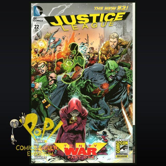 Justice League #22 DC Comics NEW 52 NM SDCC Exclusive Variant S342