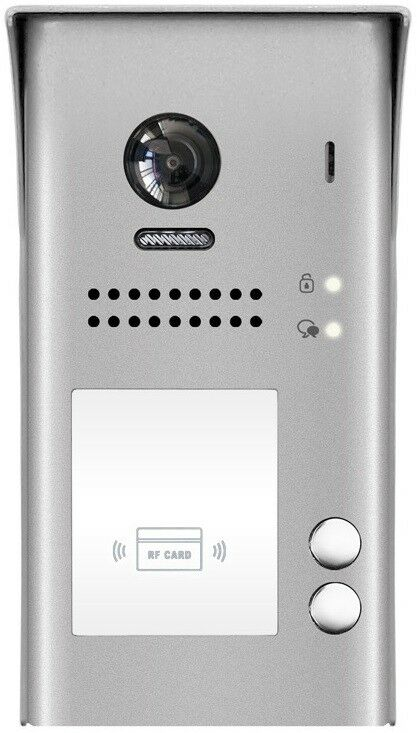 2-Familien 2 Draht Aufputz Aussenstation Fischaugen Kamera 170° 2.0 Mega Pixel