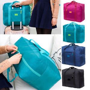 Packable-Travel-Duffel-Bag-Waterproof-Nylon-Foldable-Carry-on-Package-Versatile