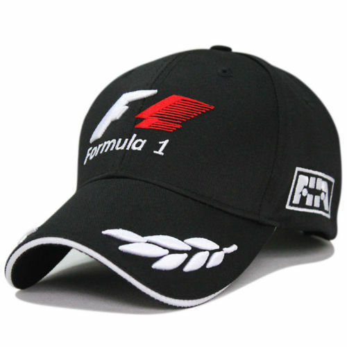 Buy Word Championship Formula 1 Embroidery Baseball Cap Hat Racing F1 Black  online  2f0f68b1876