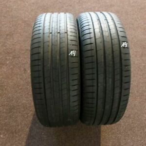 2x-PIRELLI-P-ZERO-245-45-r20-103-W-Runflat-Dot-0719-7-mm-pneus-d-039-ete