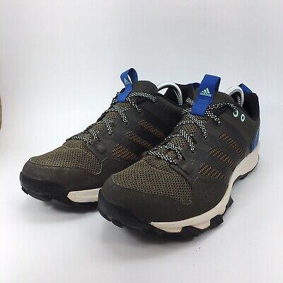 laringe Humo Mayordomo  Adidas Kanadia TR7 Mens Olive Green Blue Trail Running Hiking Shoes Sz 10  B33828 | eBay