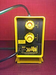 Liquid-Metronics-Z-121-06-Metering-Pump-Diaphragm-Solenoid-10GPD-75PSI-1441