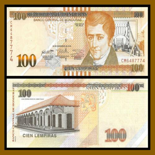2016 P-New Unc Honduras 100 Lempiras
