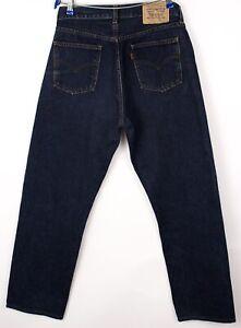 Levi's Strauss & Co Hommes 615 02 Vintage Orange Étiquette Jean Taille W32 L30
