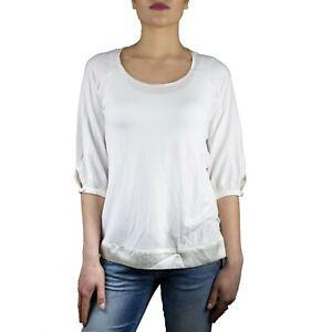 Marella-Alabama-Maglia-T-Shirt-Donna-Col-Bianco-tg-varie-43-OCCASIONE