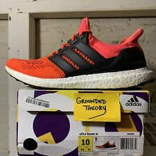 adidas Ultra Boost Solar Red B34050 US Mens Sz9 Kanye for