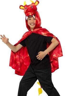 Prezzo Basso Bambini Dragon Costume Mantella Unisex Da Smiffys