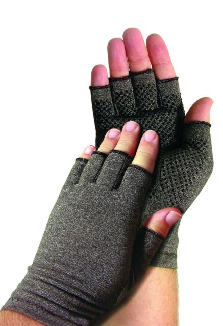 Men Arthritis Gloves Compression Grips Blood Circulation Cotton Lycra Breathable