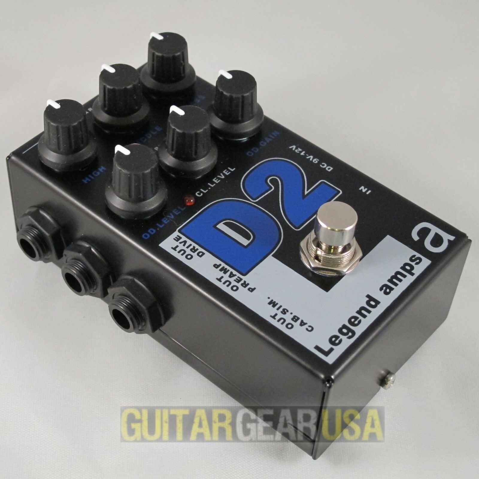 AMT Electronics Guitar Preamp D-2 (Legend Amp Series 2) emulates Diezel amps