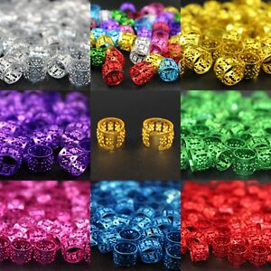 20-x-Dreadlock-Beads-Cuffs-Clips-for-Braids-Hair-Extensions-All-Colours