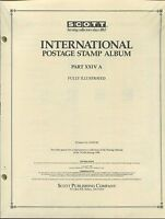 Scott International Postage Stamp Album 24a 1988 United States Korea 358 Pages