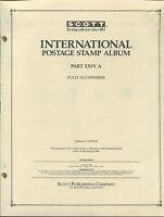 Scott International Postage Stamp Album 24a 1988 United States Korea 358 Pages