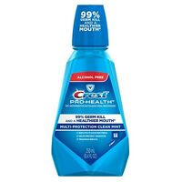3 Pack - Crest Pro-health Oral Rinse Refreshing Clean Mint 250 Ml Each on sale