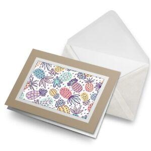 Greetings-Card-Biege-Funky-Pineapples-Surf-Surfer-2117