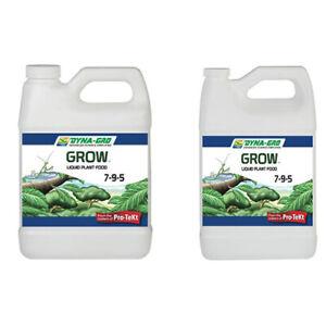Details about Dyna Gro Liquid Grow 8 oz, 1 Quart, 1 Gallon - ounce  nutrients fertilizer qt gal