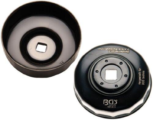 BGS 1039-68-14 Ölfilterkappe 68 mm x 14-Kant