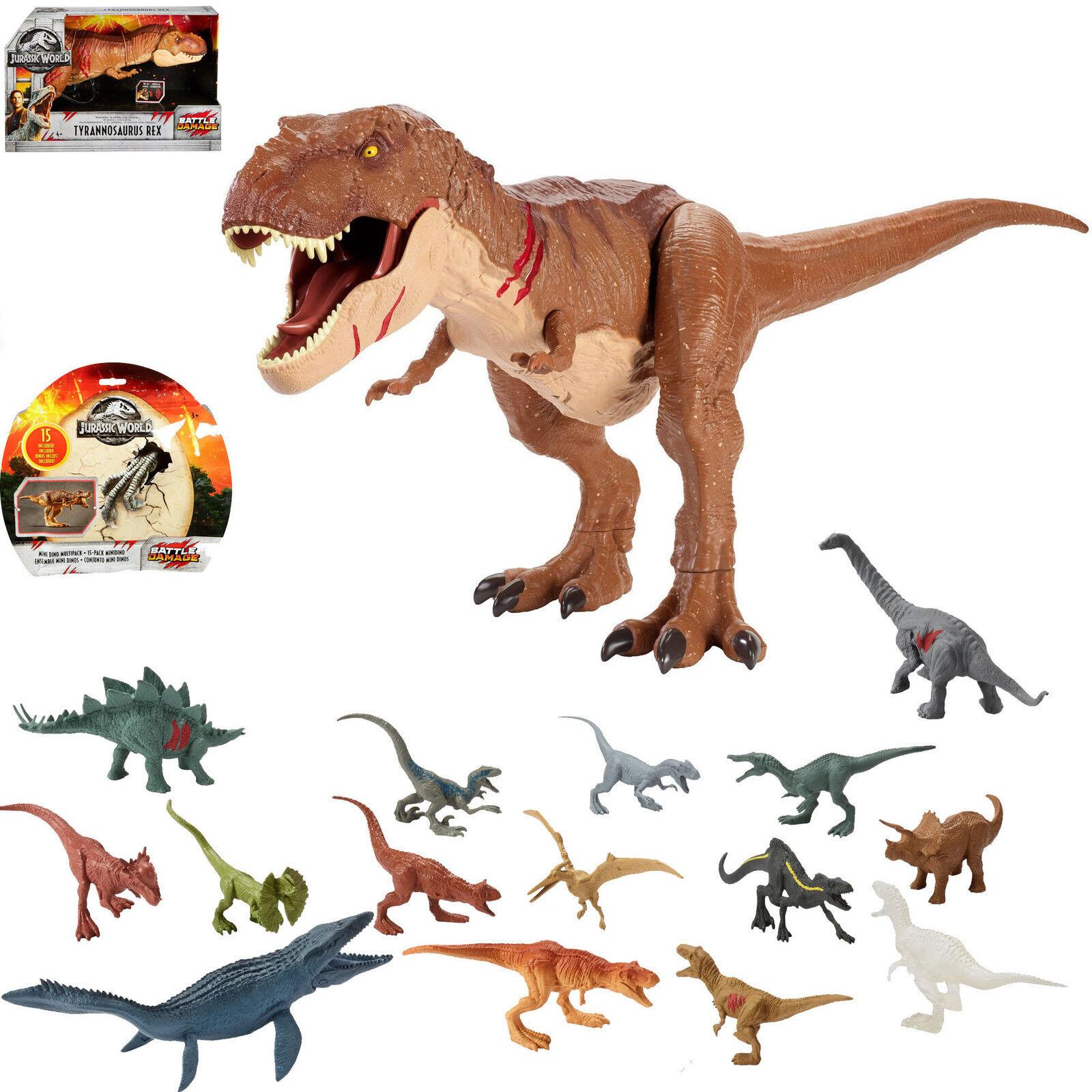 welt roarin super riesige tyrannosaurus rex & mini - dinosaurier abbildung t