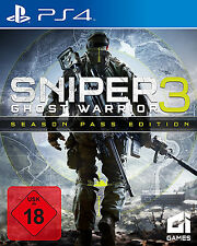 Sniper 3 Ghost Warrior + Season Pass Edition PS4 Spiel Neu