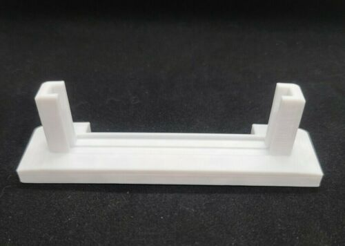 3D Impreso sólo filamento blanco Pantalla De Tarjeta Graduada titular SHOWCASE * Professional Sports autenticador