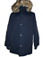 NWT Men/'s SUPERDRY Everest Twin Peaks Blue Hooded Parka Jacket Coat LARGE $233