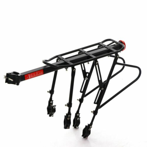 BIKIGHT Cycling Bicycle MTB Bike Seat Rear Rack Reflector Seat Mount